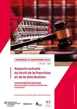 Aspects actuels du droit de la franchise et de la distribution