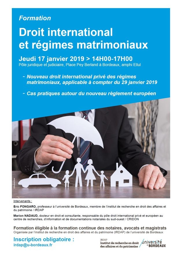 Droit international et régimes matrimoniaux