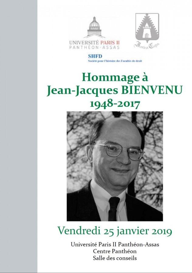 Hommage à Jean-Jacques Bienvenu