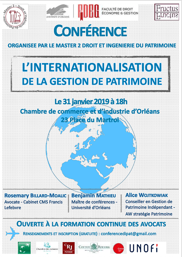 L'internationalisation de la gestion de patrimoine