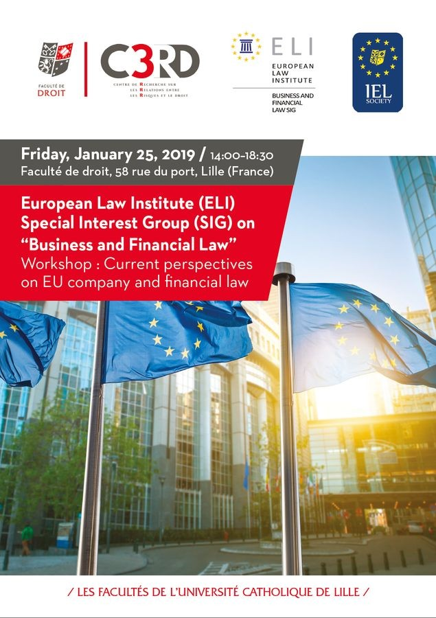 Current perspectives on EU company and financial law
