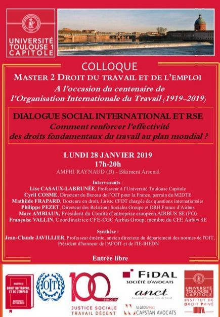 Dialogue social international et RSE