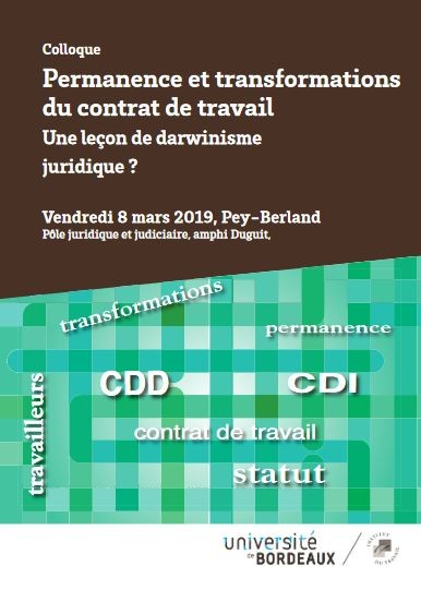 Permanence et transformations du contrat de travail