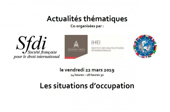 Les situations d'occupation