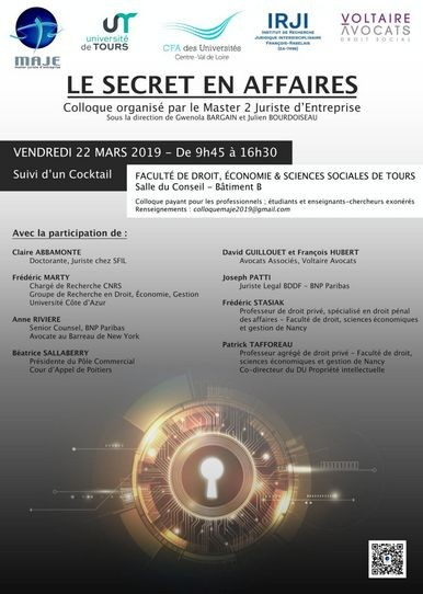 Le secret en affaires
