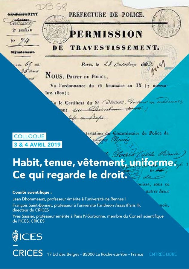 Habit, tenue, vêtement, uniforme