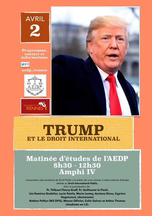 Trump et le droit international