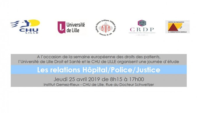 Les relations Hôpital/Police/Justice