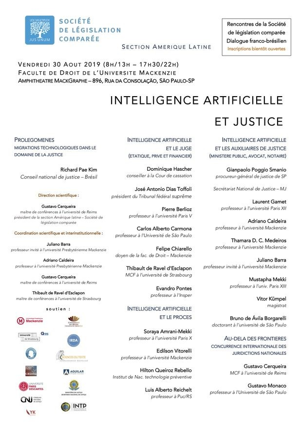 Intelligence artificielle et justice