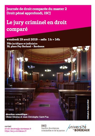 Le jury criminel en droit comparé