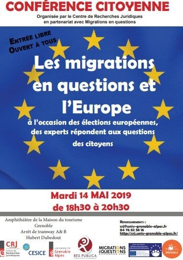 Les migrations en questions et l'Europe