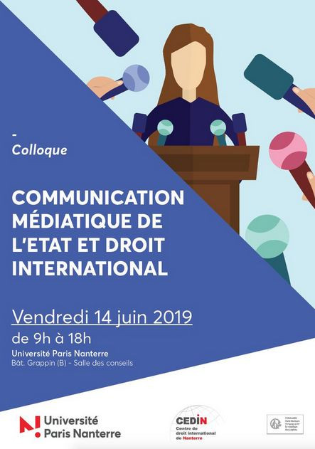 Communication médiatique de l'Etat et droit international