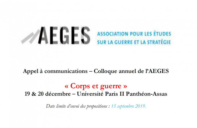 Assas Calendrier Universitaire.Corps Et Guerre Portail Universitaire Du Droit