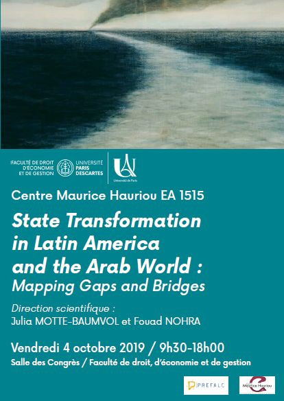 State Transformation in Latin America and the Arab World : Mapping Gaps and Bridges