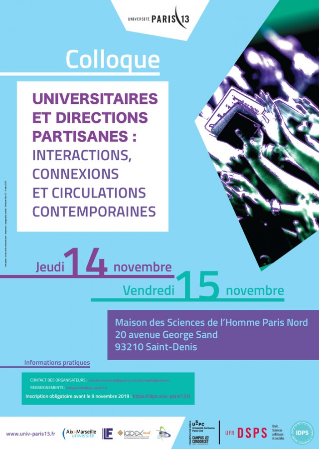 Universitaires et directions partisanes : interactions, connexions et circulations contemporaines