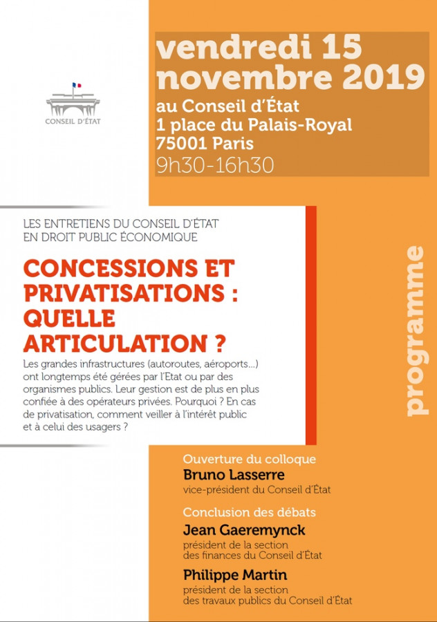 Concessions et privatisations : quelle articulation ?