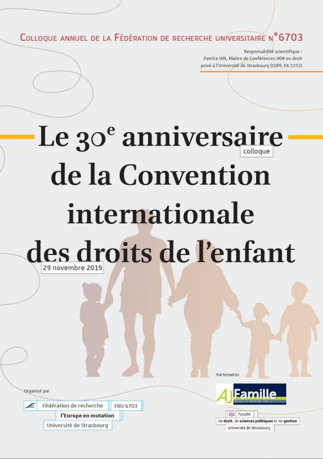 Le 30e anniversaire de la Convention internationale des droits de l'enfant