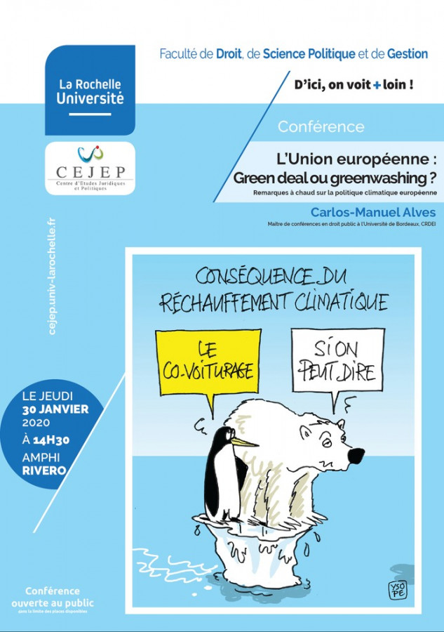 L'Union européenne : Green deal ou greenwashing ?