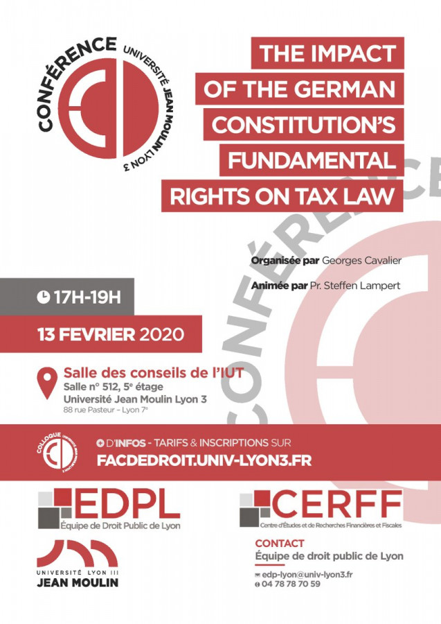 The impact of the German Constitution's Fundamental Rights on Tax Law