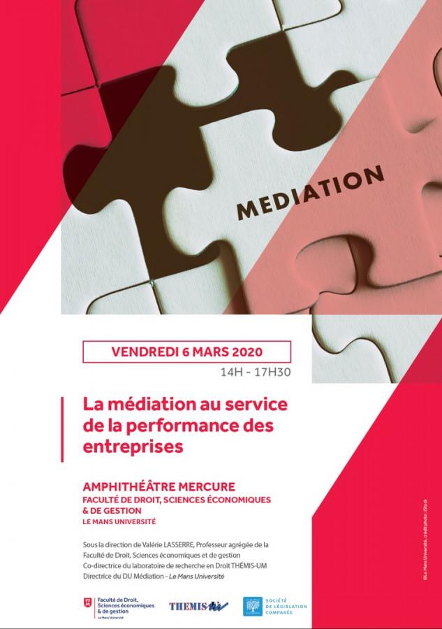 La médiation au service de la performance des entreprises