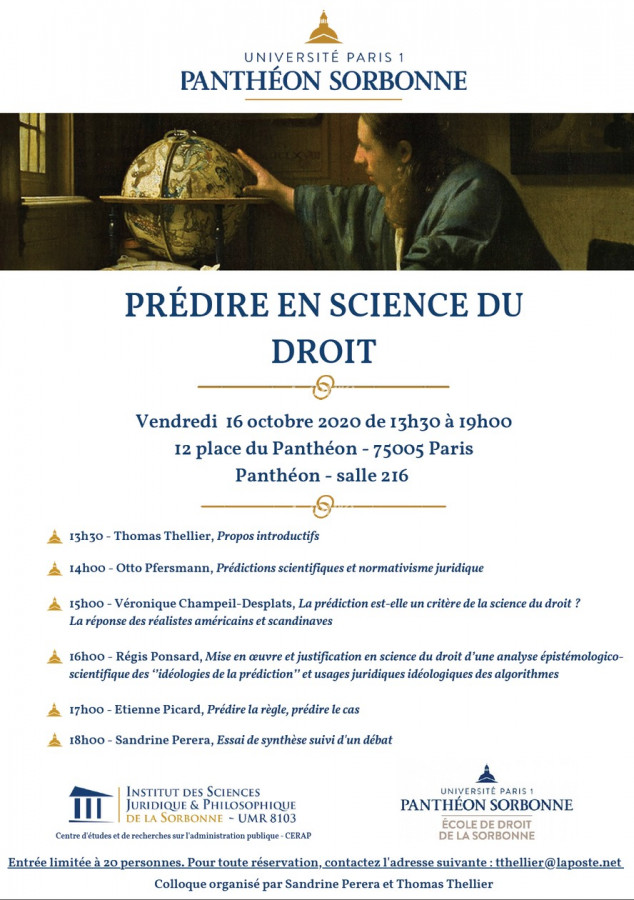 Prédire en science du droit