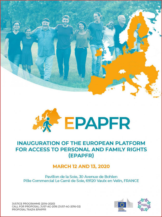 Inauguration of the European platform for access to personal and family rights (EPAPFR)