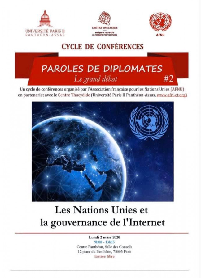 Les Nations Unies et la gouvernance de l'Internet