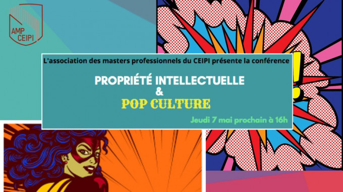 Propriété intellectuelle & Pop Culture