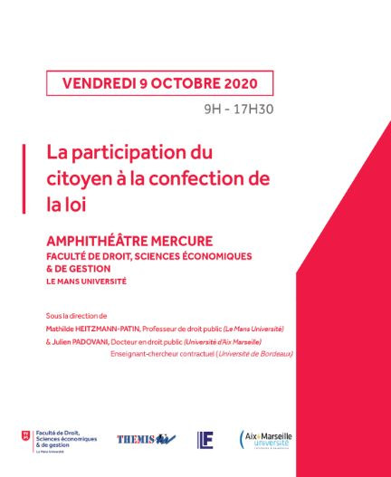 La participation du citoyen à la confection de la loi