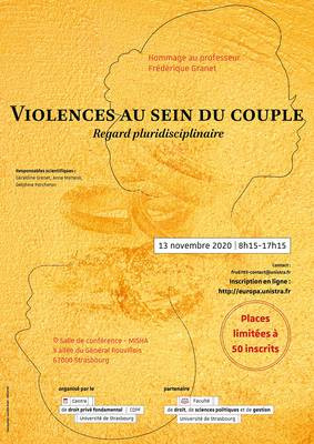 Violences au sein du couple, regards pluridisciplinaires