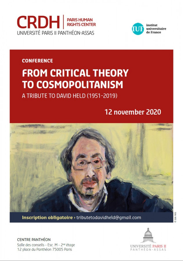 From critical theory to cosmopolitanism : a tribute to David Held (1951-2019)