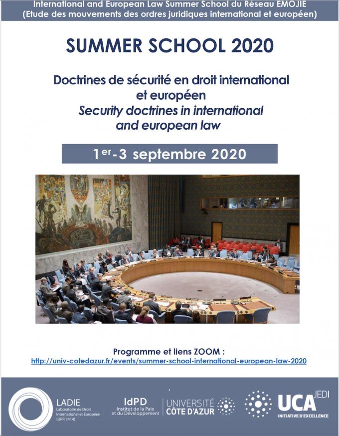 Doctrines de sécurité en droit international et européen