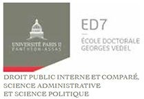 Ecole Doctorale Georges Vedel (Droit public interne, science administrative et science politique)
